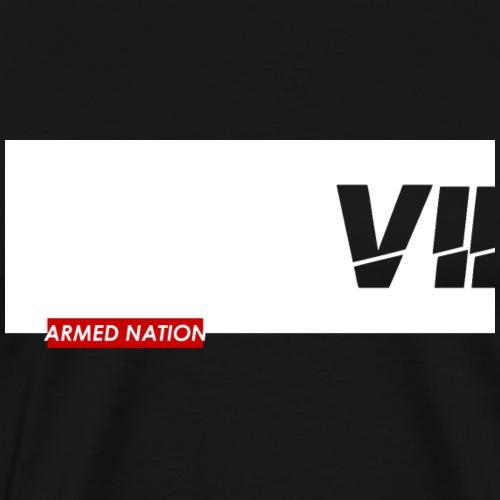 VII - ARMED NATION WITE BOX 2021 - Männer Premium T-Shirt