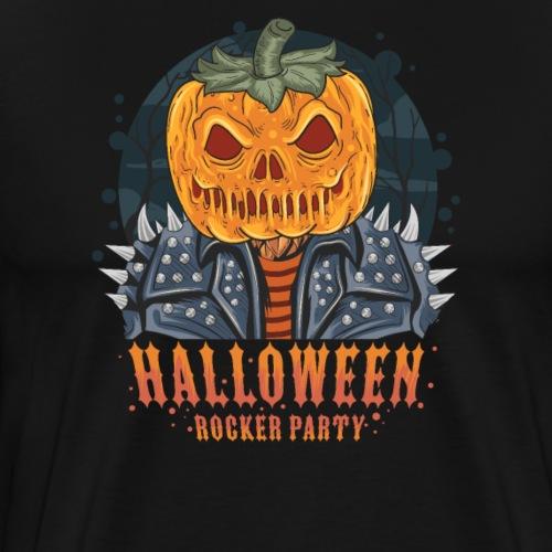 Halloween Grusel Horror Rock und Metal - Männer Premium T-Shirt
