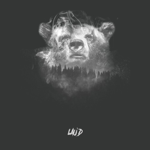 Bear-OnBlack - Men's Premium T-Shirt