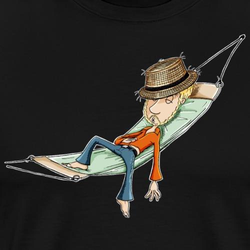 einfach abhängen - Männer Premium T-Shirt