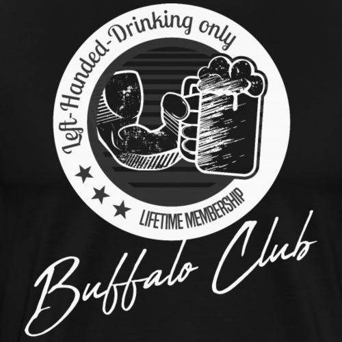 Buffalo Club Strong Arm - Männer Premium T-Shirt