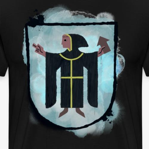 Mynch Shield By TheRawburt - Premium-T-shirt herr