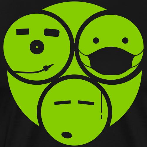TRIO SMILE II - T-shirt Premium Homme