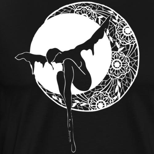 Lune de dentelle - T-shirt Premium Homme