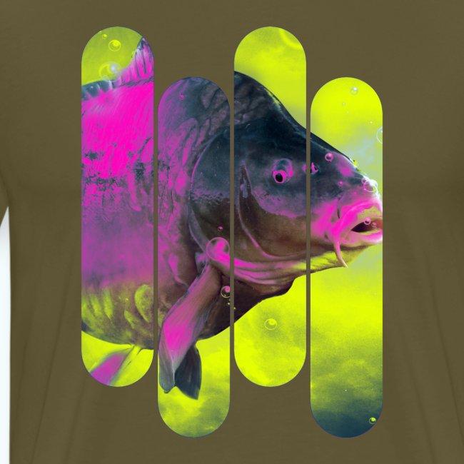 Neon colors fish