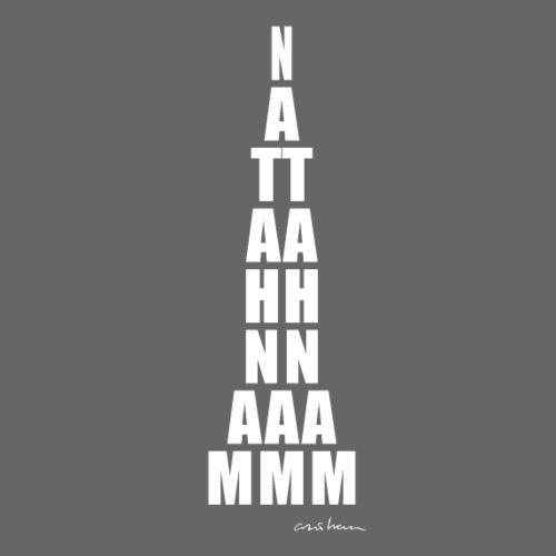 Manhattan White - Camiseta premium hombre