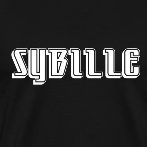 Shirt Design DDR Frauenzeitschrift sybille - Männer Premium T-Shirt
