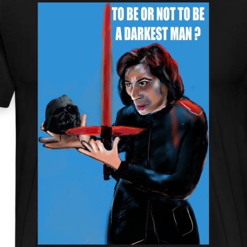 visuel tee shirt kylo to be or not a darkest man