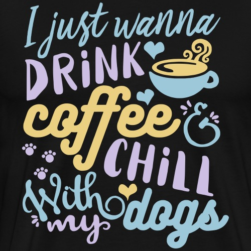 Coffee Dogs 2 - Men's Premium T-Shirt