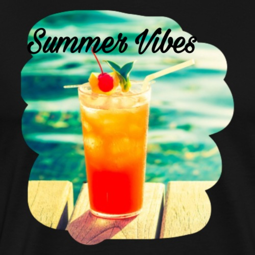 Summer Vibes - Männer Premium T-Shirt