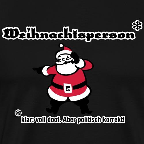 Weihnachtsperson - Männer Premium T-Shirt