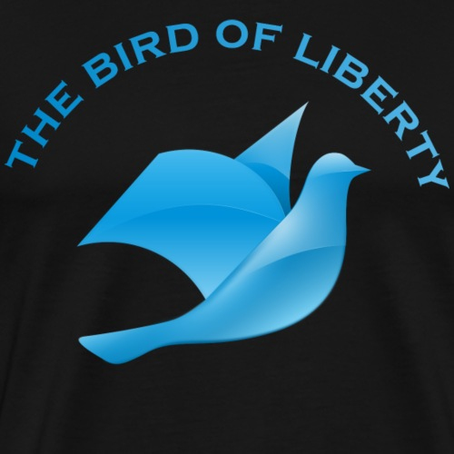 Coole T-Shirts | retro style | the bird of liberty - Männer Premium T-Shirt
