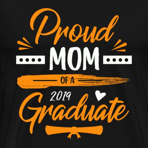 Mutter Eines 2019er Abschlussschülers - Männer Premium T-Shirt