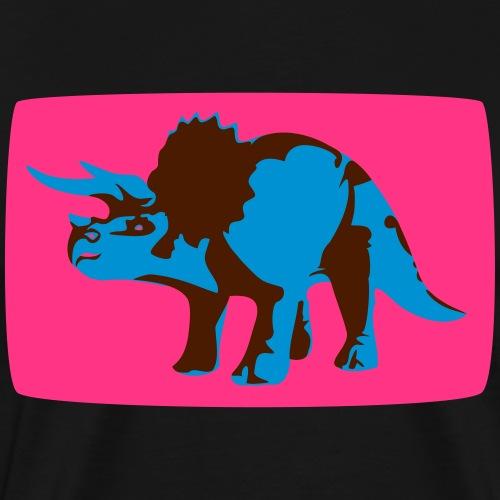 Triceratops Dinosaurier Urban Style - Männer Premium T-Shirt