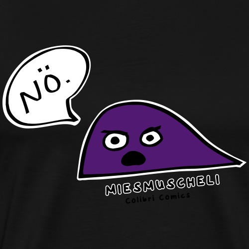 Miesmuscheli Nö. - Männer Premium T-Shirt