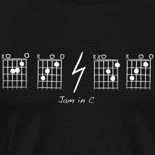 A C D C, jam in C - T-shirt Premium Homme