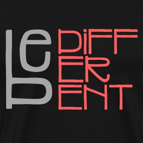 Be different - Fun Spruch Statement Sprüche Design - Männer Premium T-Shirt