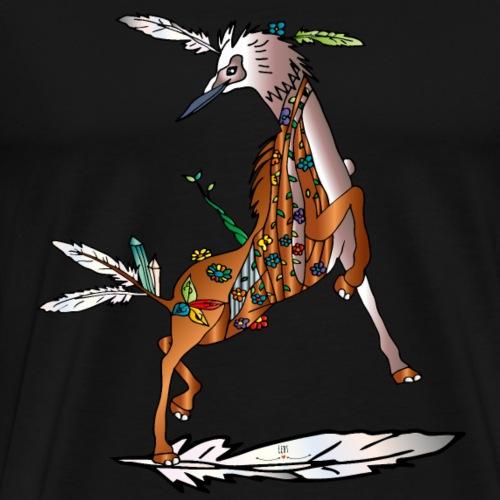 Energiewesen Vagio - Männer Premium T-Shirt