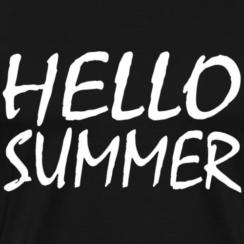 Hallo sommer - Men's Premium T-Shirt