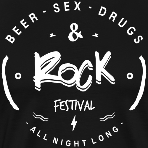 sex drugs and rock - T-shirt Premium Homme