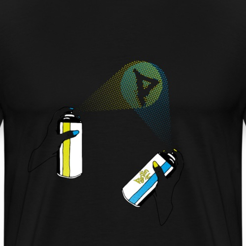 pantin spray - Männer Premium T-Shirt