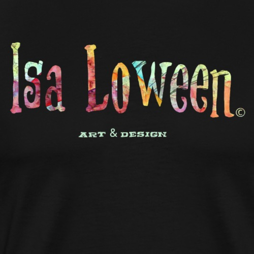 Isa Loween Art & Design Logo - T-shirt Premium Homme