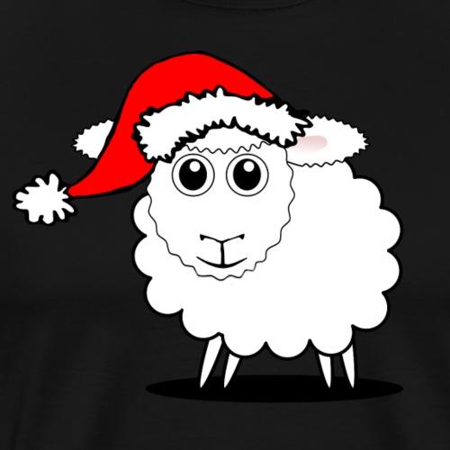 Weihnachts Schaf - Männer Premium T-Shirt