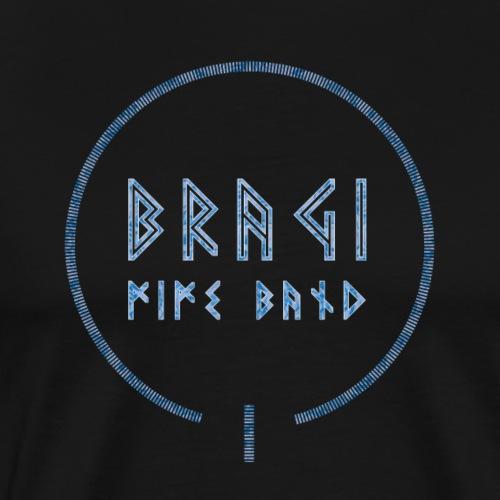 Bragi 2018/2019 Logo Blue - Herre premium T-shirt