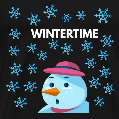 winter wintertime - Männer Premium T-Shirt