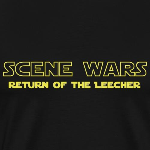Scene Wars - Premium-T-shirt herr