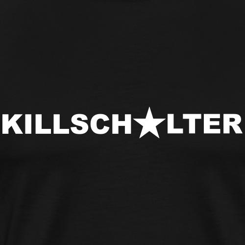 Napis KILLSCHALTER - Koszulka męska Premium