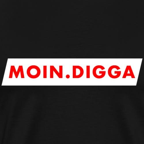 Moin Digga! Das Geschenk aus Hamburg - Männer Premium T-Shirt