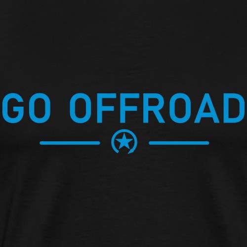 go offroad - Koszulka męska Premium