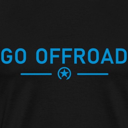 idź off-road - Koszulka męska Premium