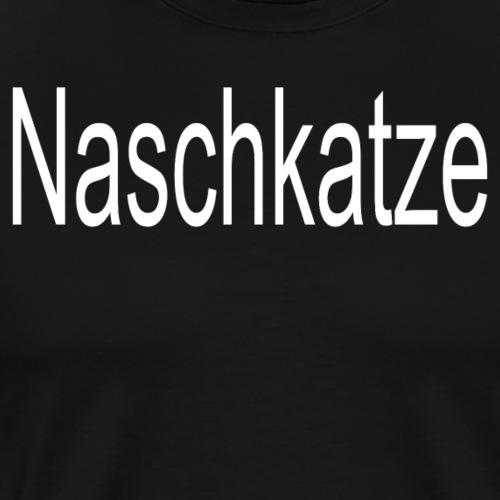 Naschkatze Katze naschen - Männer Premium T-Shirt
