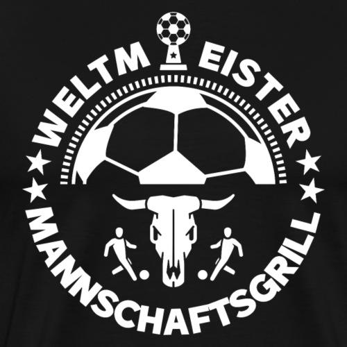 FUSSBALL MANNSCHAFTSGRILL v1W - Männer Premium T-Shirt