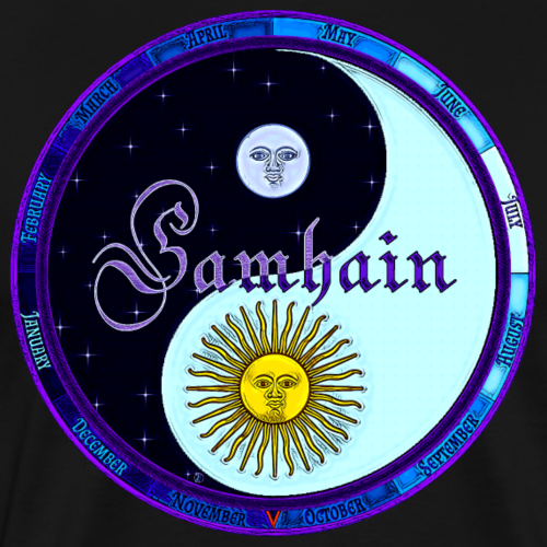 Samhain - Halloween - Men's Premium T-Shirt