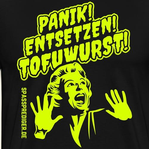 Grill-Shirt Tofuwurst - Männer Premium T-Shirt