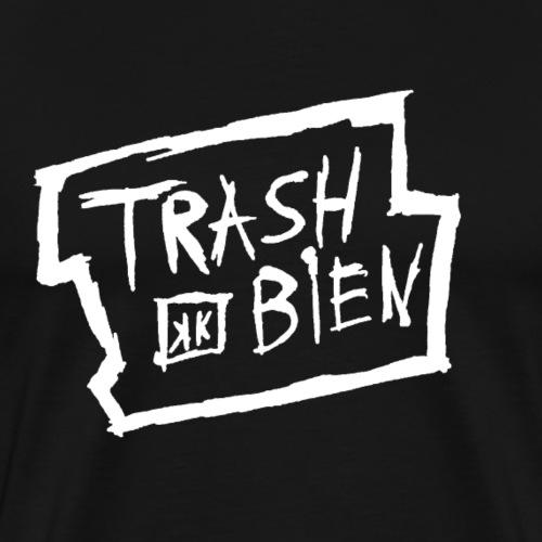 trash bien weiss - Männer Premium T-Shirt