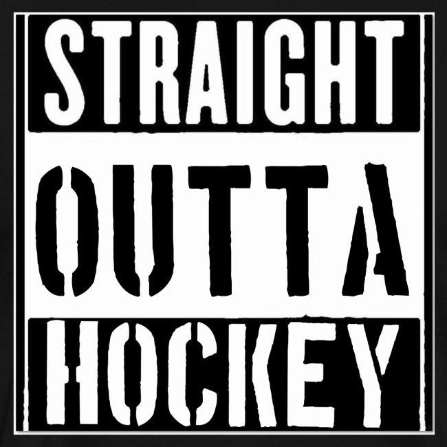 straight outta hockey // Eishockey Fun Shirt
