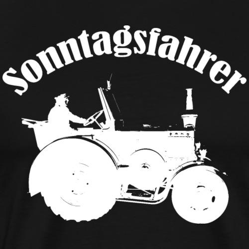 Sonntagsfahrer Landwirt - Männer Premium T-Shirt