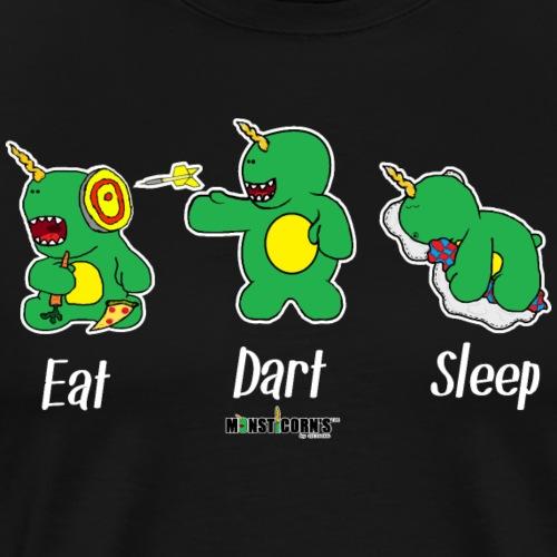 Monsticorns Eat Dart Sleep