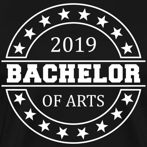 Bachelor of Arts 2019 - Männer Premium T-Shirt