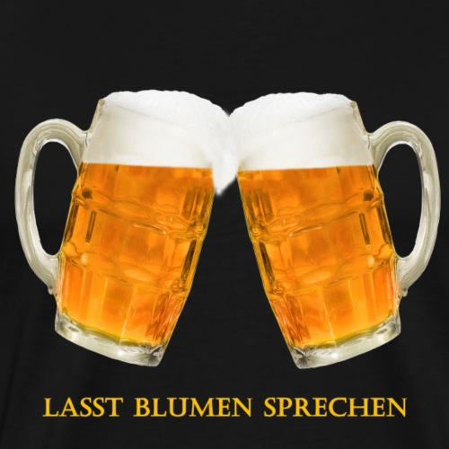 Bier Himmelfahrt Vatertag Glas - Männer Premium T-Shirt