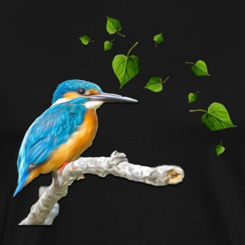 martin pêcheur - T-shirt Premium Homme