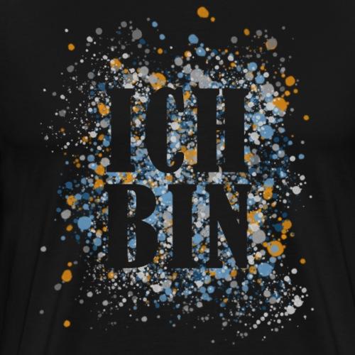 ICH BIN - Gesetz der Annahme - Neville - I am - Männer Premium T-Shirt