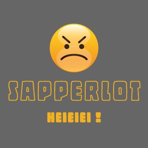 Sapperlot heieiei CH-Mundart für 'verflixt'