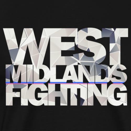 WMF low poly light - Men's Premium T-Shirt