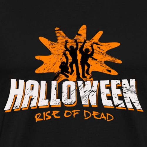 Halloween Rise of the Dead - Männer Premium T-Shirt