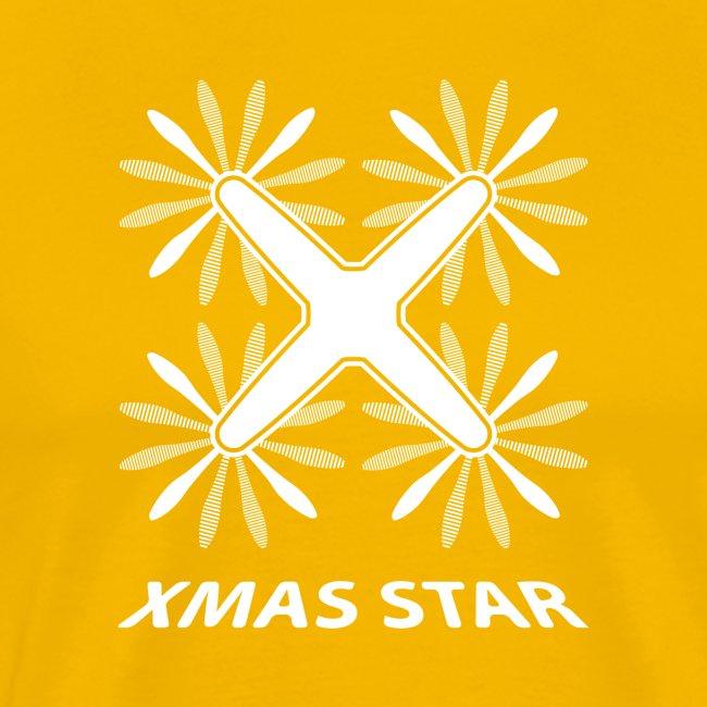 Nouvelle étoile de Noël (version blanche)